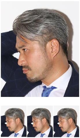 女性ウケNo. 1スタイル/ビジネスマン七三分け