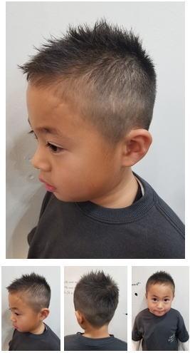 子供 髪型 短髪