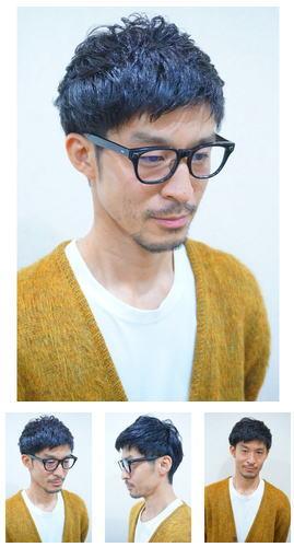 WAX揉み込みマスタードメガネ