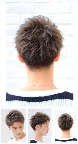 スタイルコレクション0ツーブロックビジカジ後ろ髪