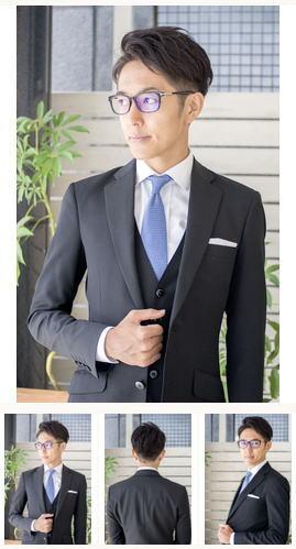 刈り上げツーブロック/スーツに似合う髪型/メンズビジネスヘア
