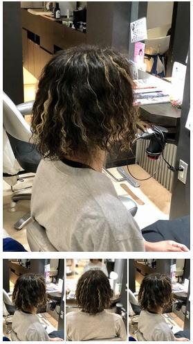 特殊ロングツイストスパイラルメンズヘア