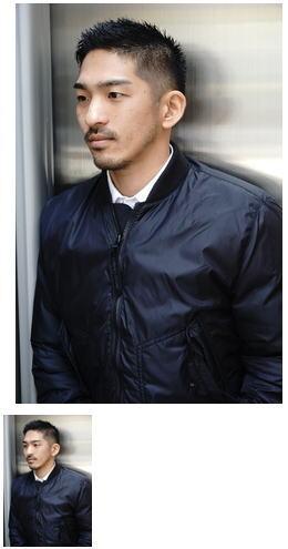 スーツ短髪ツーブロック束感モテる黒髪シークレットパーマ