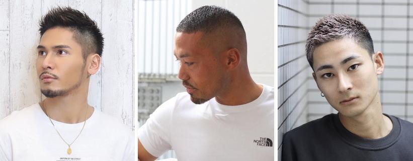 頭頂部の薄毛を丸刈りヘアで隠す!&頭頂部[薄毛]丸刈りメンズ髪型厳選【15選】
