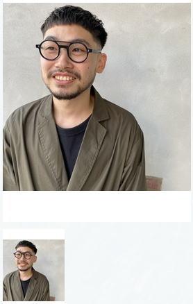 メガネに合うフェードスタイル