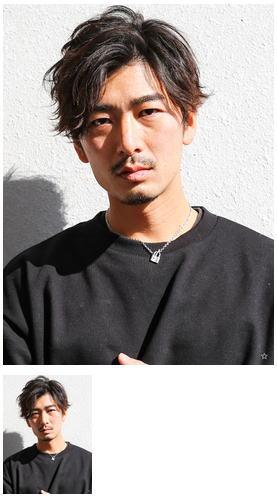 イケメン黒髪モテるネープレスショート流行モテ髪マッシュ束感