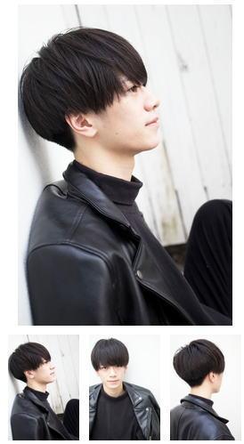 スマートマッシュ韓国マッシュ黒髪マッシュ韓国ヘア
