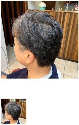 メンズカット/30代40代/ビジネスヘア/グレイヘア