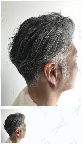 白髪を生かして大人グレイヘア