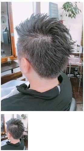 白髪を活かして染グレイヘア