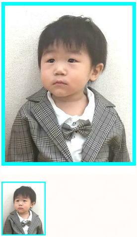 1歳半の男の子キッズカット子供カット