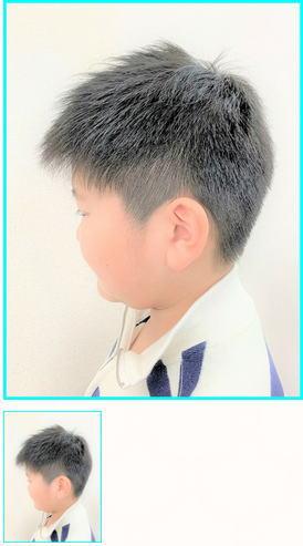 ソフトツーブロック/ソフトモヒカン/男の子ショート/きれいめ