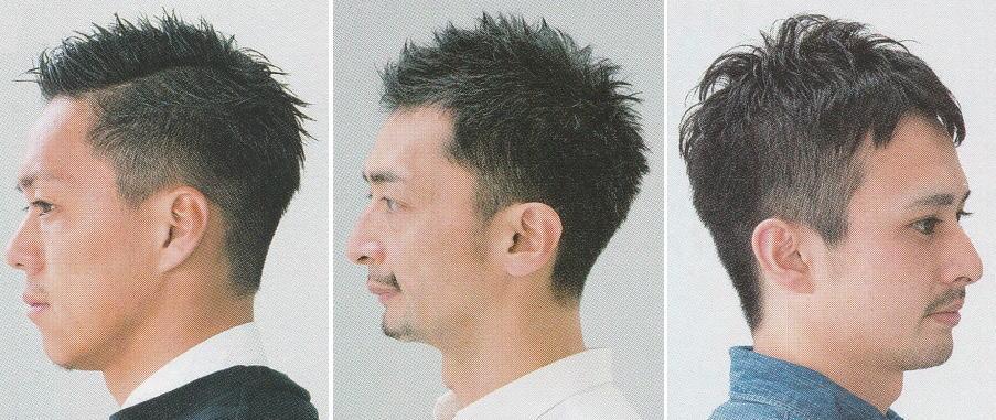 軟毛メンズ髪型【ベリーショート】