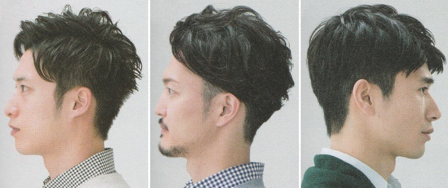 軟毛メンズ髪型【ショート】