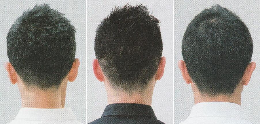 メンズ髪型【ソフトモヒ】軟毛ベリーショートは輪郭カバーにいい!