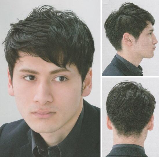 前髪下しヘア|インテリア系モテショートヘア