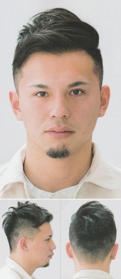 「男気スタイツの刈り上げミックス」ヘアスタイル