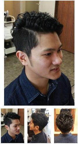 震災刈りビジカジ無造作ショートヘア