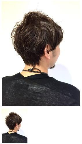 くせ毛&細毛のふんわりショートスタイル