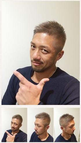 お洒落ボウズ/アシンメトリー/刈り上げイメチェン
