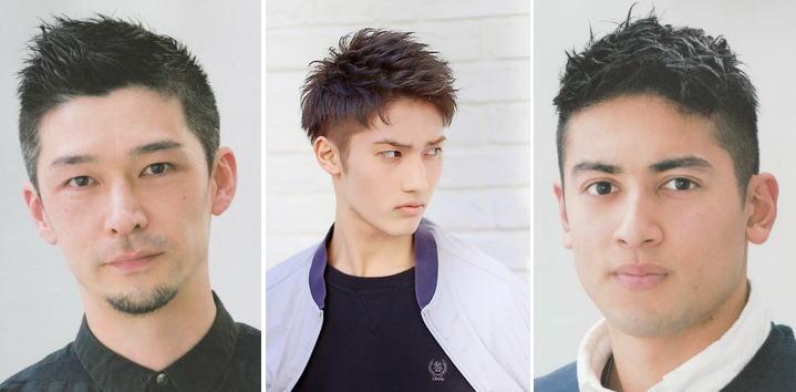 薄毛ヘア対策!メンズ髪型ショートヘア【25選】薄毛3部位比較