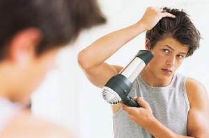 高校や大学では軟毛の髪型だけを意識していた。