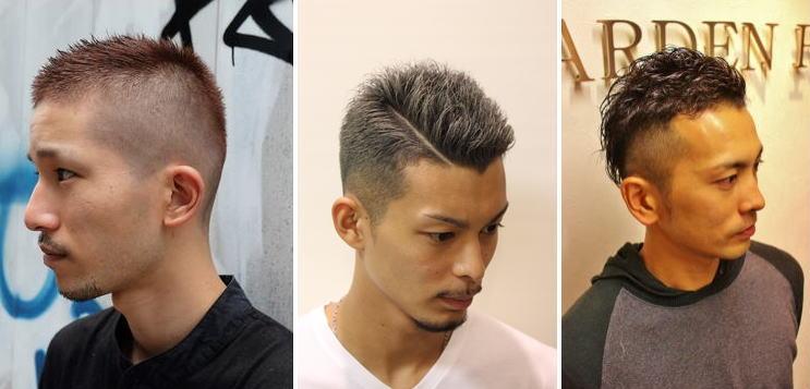 M字はげ[髪型]男のヘアスタイル厳選【43選】ツーブロ・ソフトモヒ・七三・パーマ他!