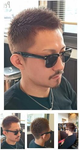 絶妙なブラウンヘアスタイル