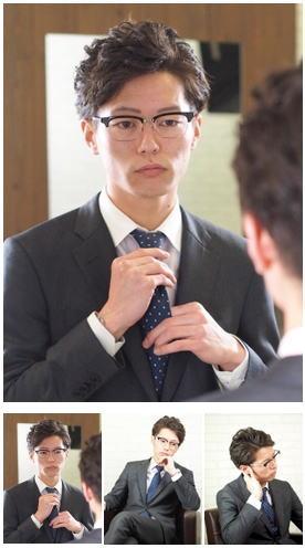 上司や同僚に差をつけるスーツパーマスタイル