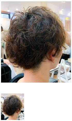 直毛の方向けメンズパーマスタイル