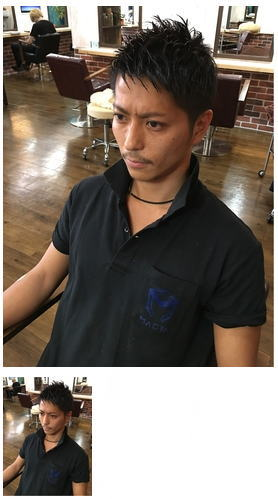 ハイトーンミックス平成七三分け