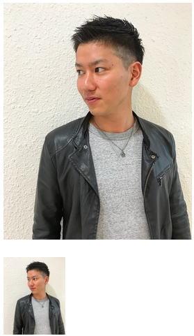 黒髪短髪イケメンツーブロックショートメンズヘア