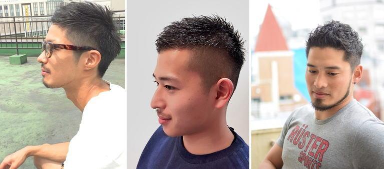 M字ハゲ[髪型]論|M字はげの髪型でツーブロックvsソフトモヒカンでは厳選【15選】