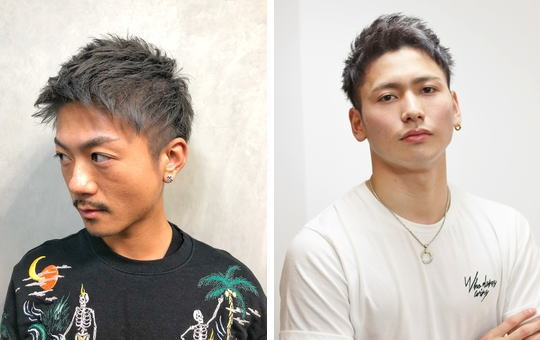 M字ハゲ[髪型]論|M字はげは前髪で隠すよりアップバンクで見せるヘアに厳選【15選】