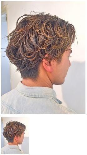 西海岸サーファー風束感お洒落ミディアムヘア