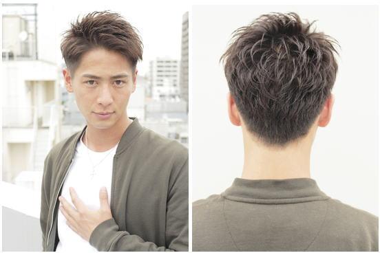 ツーブロック[オールバック]の後ろ姿と短髪ショートヘア厳選【15選】
