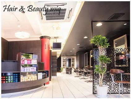 miq  Hair&Make up 日暮里店【ミックヘアアンドメイクアップ】[東京都荒川区東日暮里]