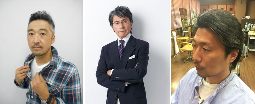 40代ビジネス髪型メンズ軟毛[白髪(グレイ)ヘア]厳選【17選】ミドルエイジの特権髪!