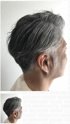 白髪を生かした大人のグレイヘアスタイル