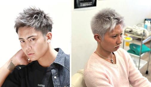 グレイヘア[50代]男性のメンズ髪型厳選【15選】自然な白髪は黄ばみが入ってしまう!